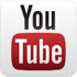 You Tube logo used to show that the Steady Swing golf aid has a video on YouTube.